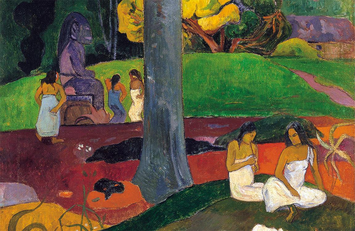 Mata Mua, famoso cuadro de Gauguin