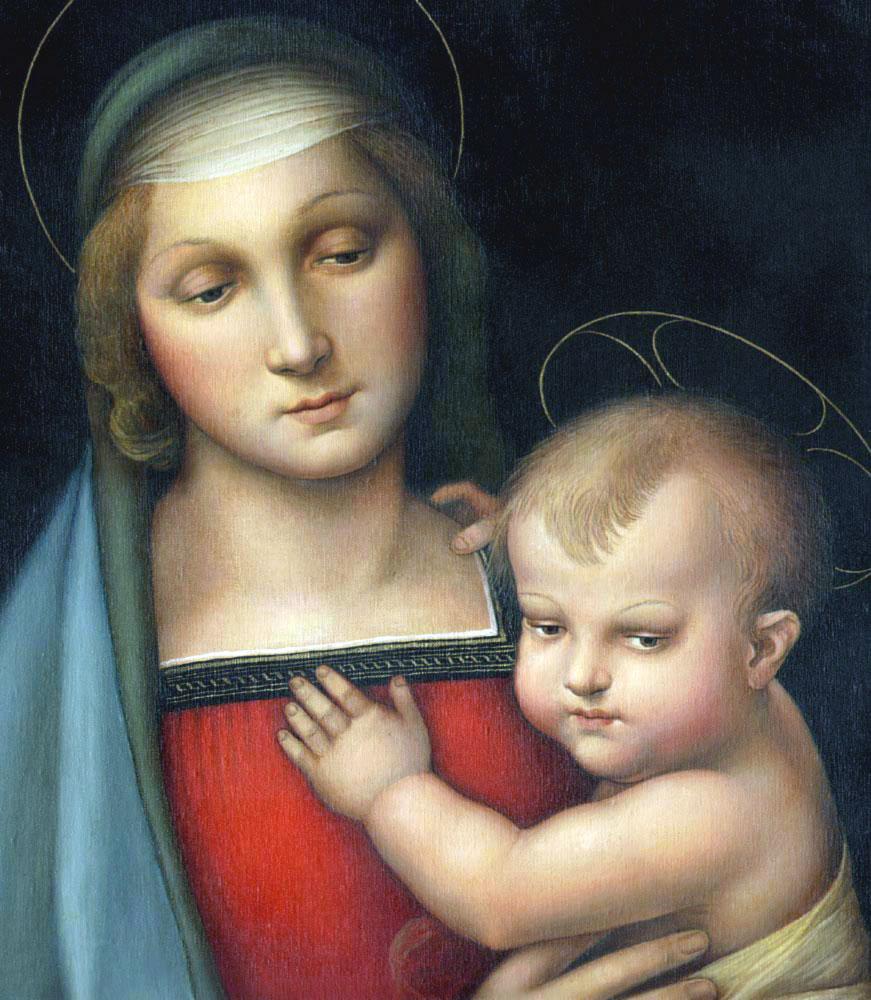 Madonna del Granduca, famosa Raffaello