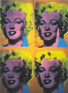 Andy Warhol Four Marilyns