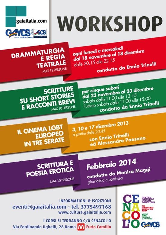 Workshops Gaiaitalia Small