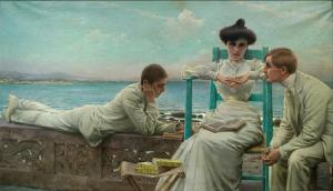 Vittorio Matteo Corcos - In lettura sul mare