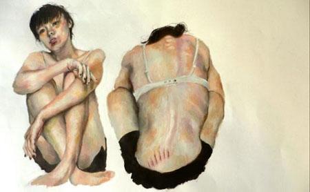 Zurigo, Egon Schiele e Jenny Saville: sovversivi a confronto