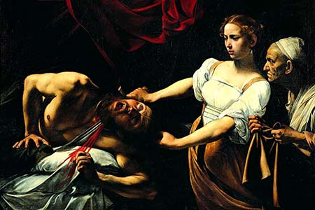Caravaggio 00 - Giuditta_che_taglia_la_testa_a_Oloferne(1598-1599)