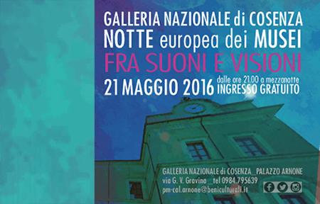 Notte Europea dei Musei 2016 Calabria
