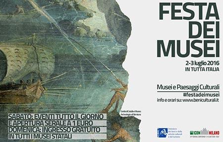 Cosenza Festa dei Musei 2016