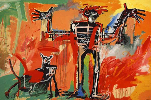 jean-michel-basquiat-boy-and-dog-in-a-johnnypump-00-1982