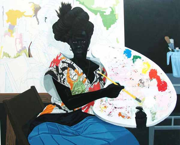 "A New York, Kerry James Marshall presenta ""Mastry"""