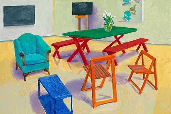 """L'Arte vista da Emilio Campanella: """"La coazione a ripetere di David Hockney"""""""