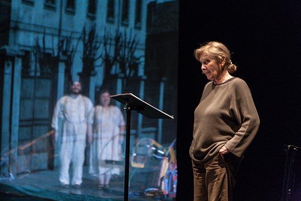Giulia Lazzarini al Festival della Mente di Sarzana sabato 2 settembre