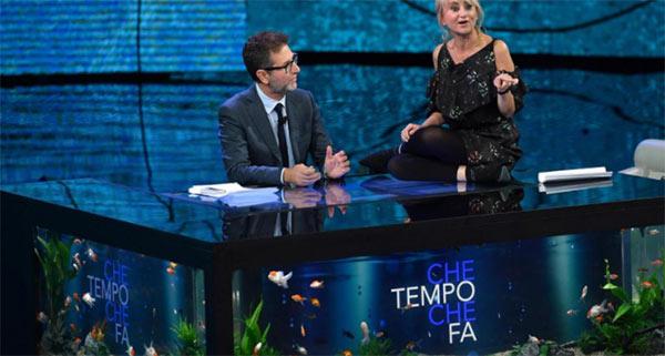 """""""Che Tempo Che Fa"""" di Fabio Fazio al 18,2% di share"""