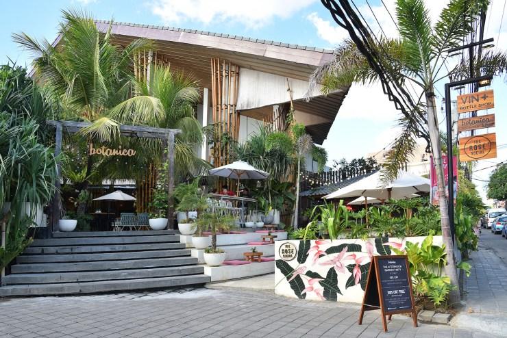Botanica restaurant and bar seminyak bali