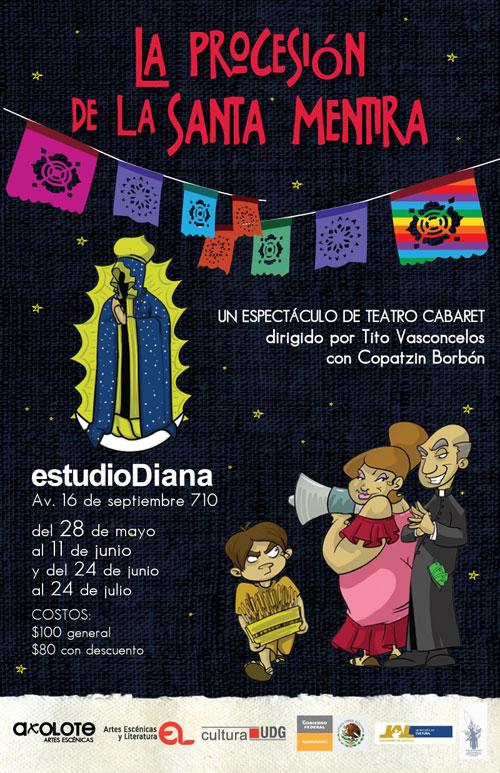 Poster de la Procesión de la Santa Mentira