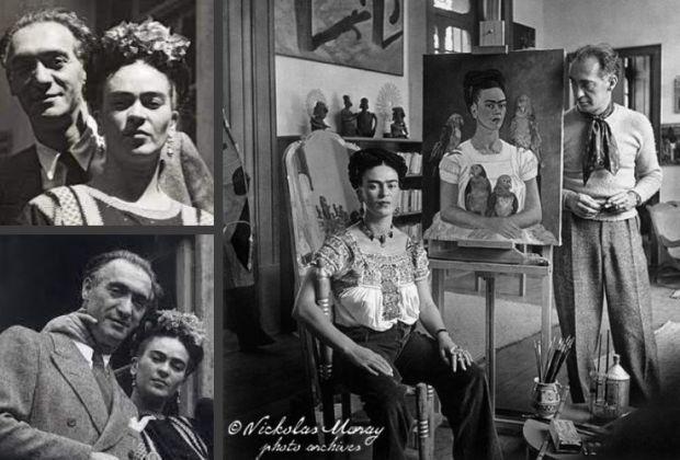 Frida Kahlo por Nick Muray
