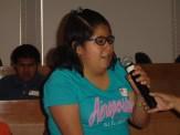 Alumna del taller de ciencia para ciegos comparte sus experiencias