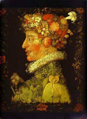 pusa roth giuseppe arcimboldo primavara manierism cele patru anotimpuri cap compus flori proza scurta