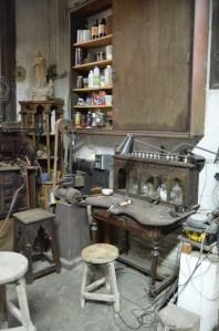 En cada rincón del taller se puede apreciar la historia de este lugar - Fuente propia