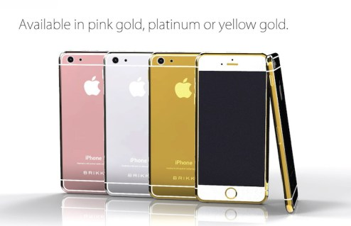 iPhone 6 de lujo @culturageek