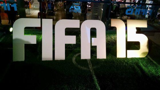 Evento Fifa15 , presentación Rodrigo Mora , Arruabarrena, culturageek.com.ar