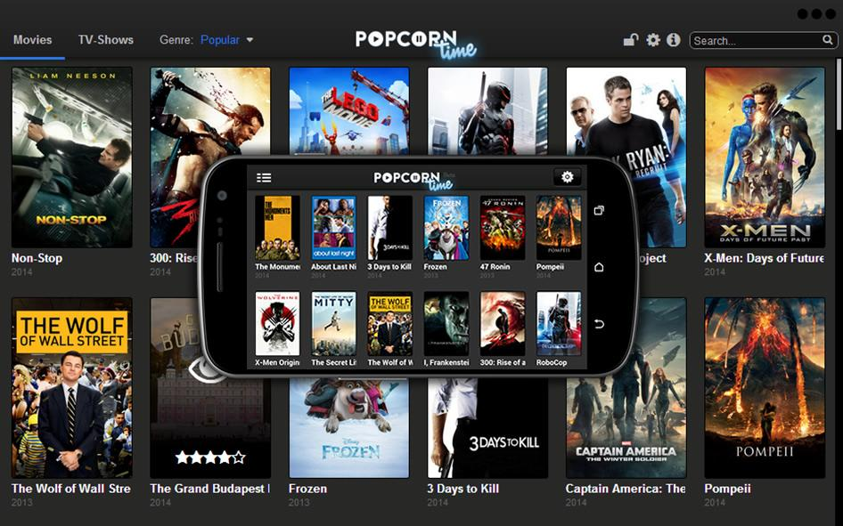 Cultura Geek Popcorn Time iOS 1