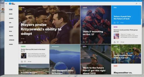 Demo técnica de la Aplicación de USA Today.