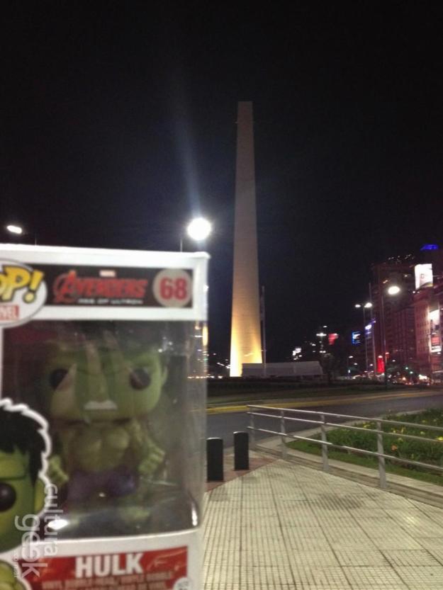 cultura geek 211 Hulk recorre la ciudad - Sorteo Valkyrya