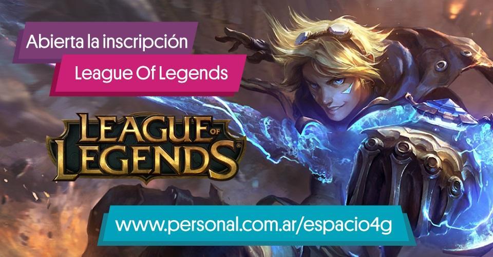 Torneo Personal League of Legends culturageek.com.ar