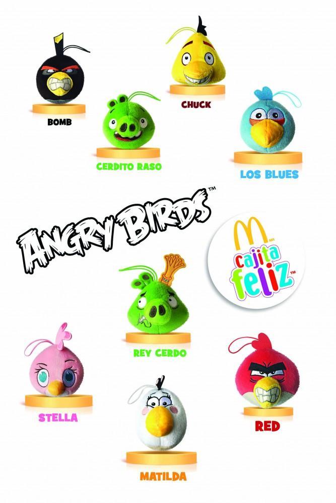 Angry Birds Colección Completa