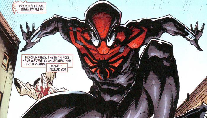 Spider-Man suit b culturageek.com.ar