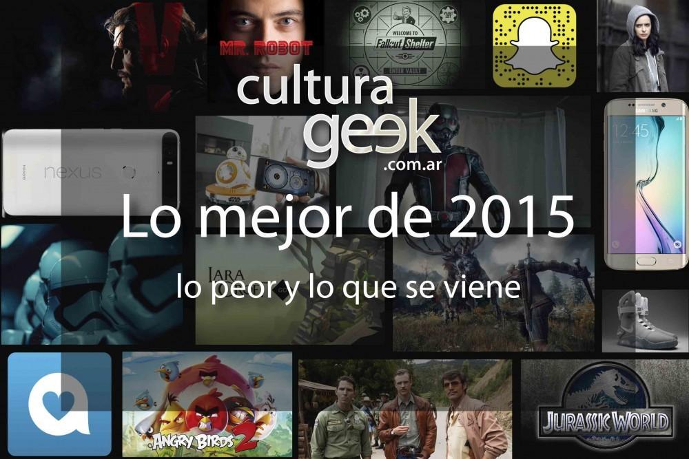 lo mejor de 2015 culturageek.com.ar