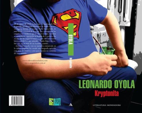 cultura geek Leonardo Oyola Kryptonita
