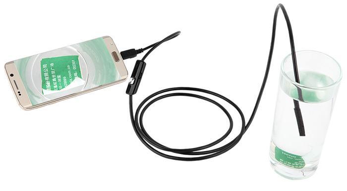 Cultura Geek Endoscopio Android