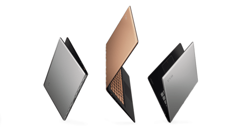 Lenovo YOGA 900S in Gold & Silver_Product Family