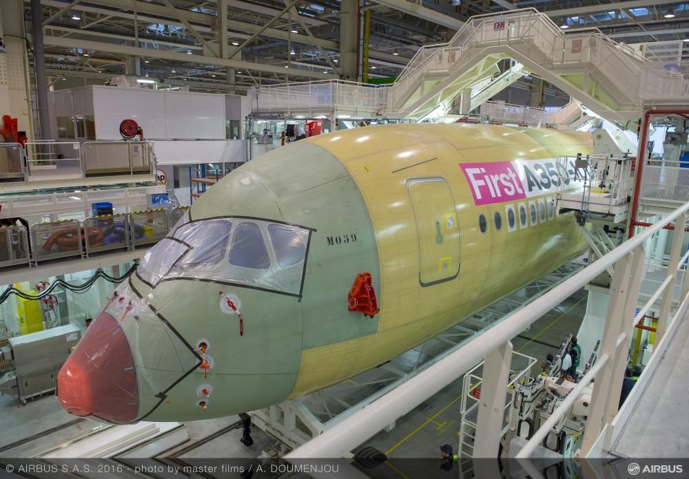 Cultura Geek Airbus A350-1000