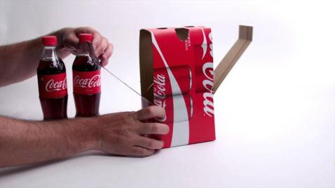 coca cola cardboard culturageek.com.ar 3