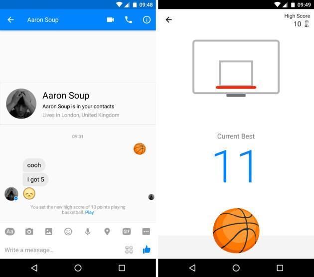 Cultura Geek Facebook Messenger Basket 1