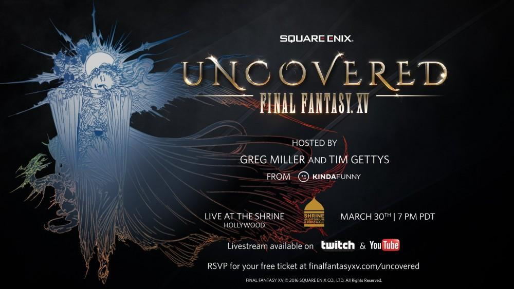 Cultura Geek Final Fantasy XV Uncovered 1