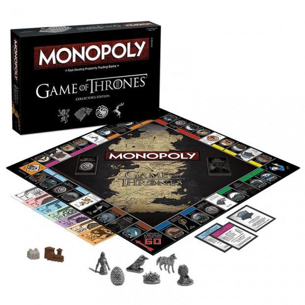 Cultura Geek Game of Thrones Monopoly 1