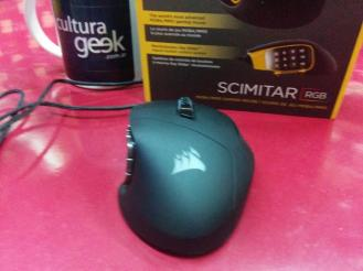 mouse Corsair Scimitar RGB www.culturageek.com.ar