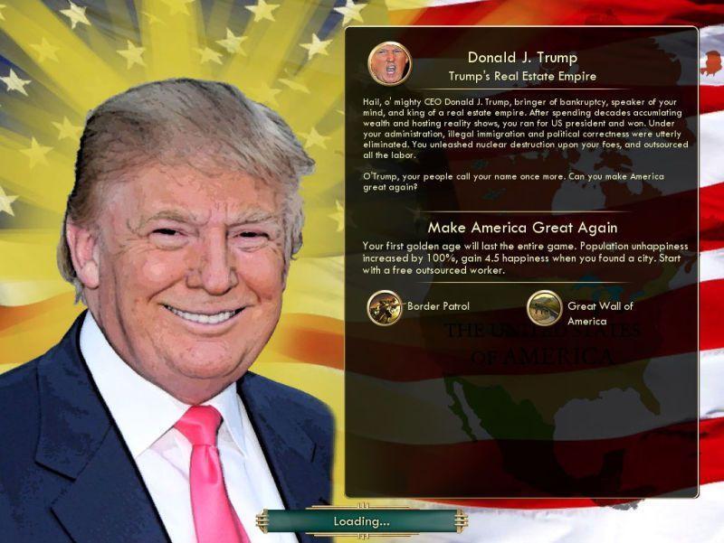 Trump Civ 2 culturageek.com.ar