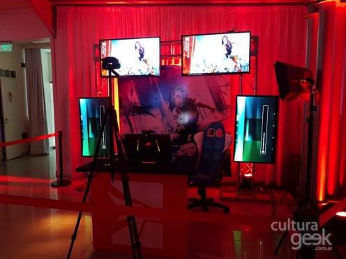 jugando con natalia - Mirrors Edge Catalyst www.culturageek.com.ar