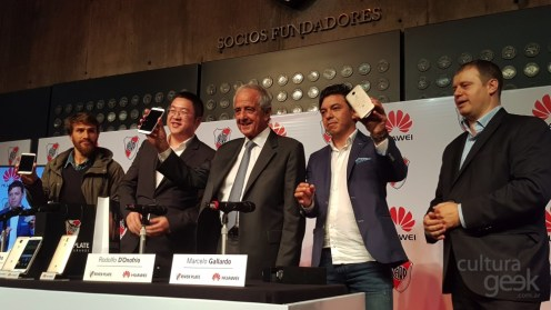 Gallardo y el Huawei G8