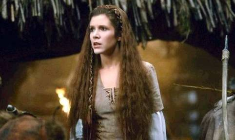Carrie Fisher Princesa Leia www.culturageek.com.ar RIP Princess Leia