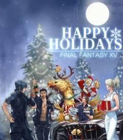 Cultura Geek Navidad PlayStation Final Fantasy XV