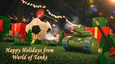Cultura Geek Navidad PlayStation World of Tanks