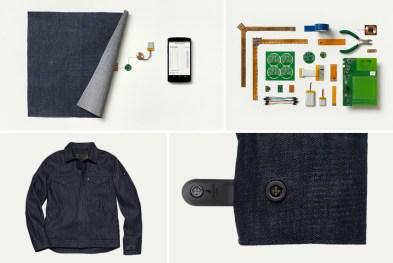 Project Jacquard chaqueta inteligente Google Levi's www.culturageek.com.ar