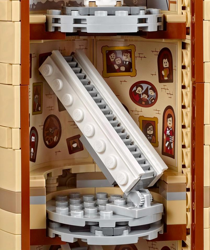 Hogwarts en LEGO Harrypotter-legohogwarts-staircase
