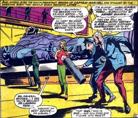 culturageek.com.ar Captain Marvel Carol Danvers Marvel Super-Heroes 13