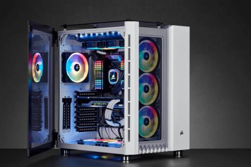 Culturageek.com.ar - Corsair Crystal Series 680X RGB Carbide Series 678C Chasis Gabinete PC Motherboard 03