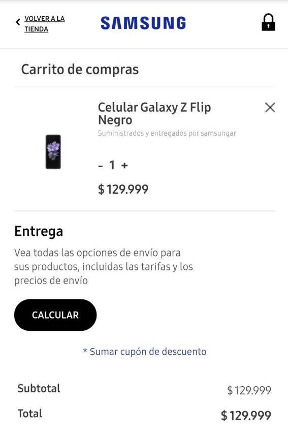 Galaxy Z Flip argentina culturageek.com.ar