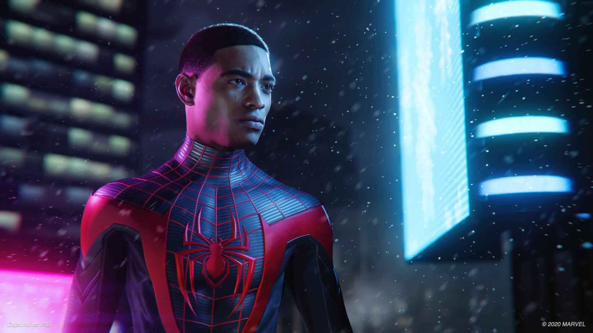 Spiderman Miles Morales precio en PS5